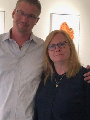 Activist & Author Ben Cort with Jane Wells