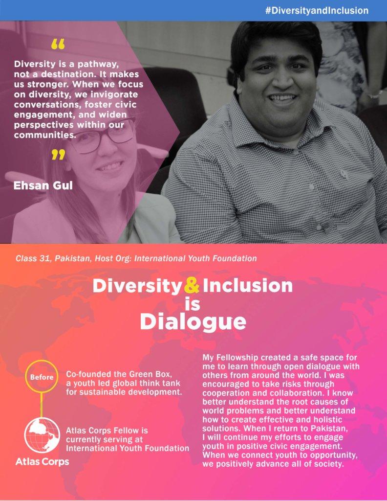 Atlas Corps: Celebrate Diversity & Inclusion