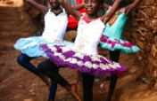 Dance Floor for Kibera Ballet Dancers