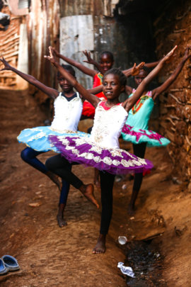 Dance Floor for Kibera Ballet Dancers