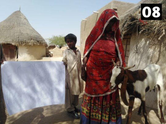 Widow Receiving Goat