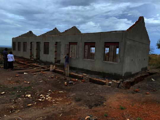 school construction progress
