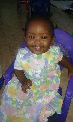 Ever smiling Natasha
