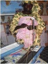 Akokan mentor Fourera with knitting machine