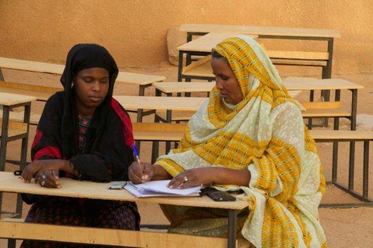 Mentors support academics AND life skills