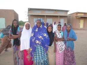 Mentor Assalama Attaher and her sponsored students