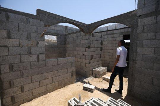 A new home in Oriba, Rafah