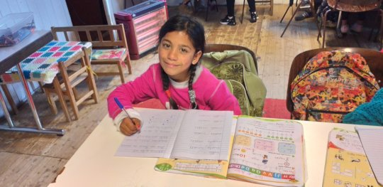 Another participant in the Gjirokaster program