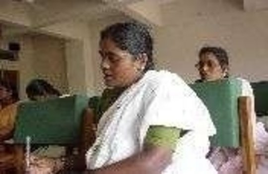 India: Dalit Women and girls receive health edu.