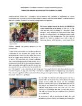 Project Report by Tikondane Community Centre (PDF)
