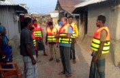 Emergency Response to Cyclone AMPHAN and COVID-19
