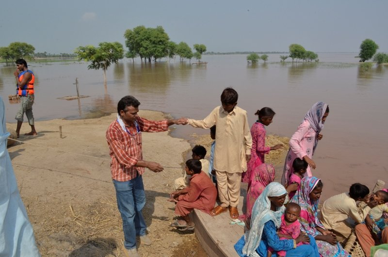 Heavy rains and Flood Appeal for 500 families
