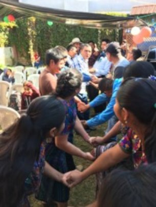 Building bridges at the year-end holiday event