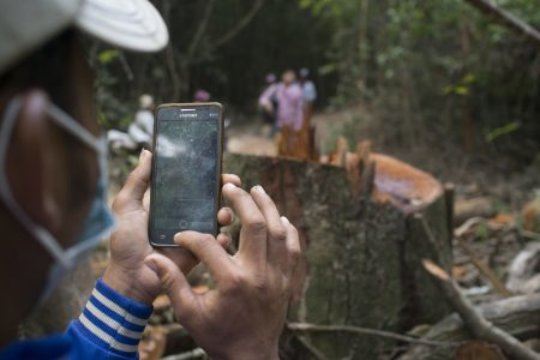 Equip Cambodians with Tech to Protect Their Forest