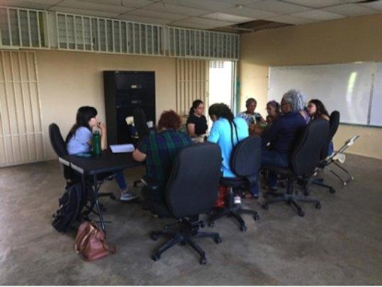Community microentrepreneurs meeting