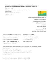 RFP Community Kitchens (Spanish) (PDF)