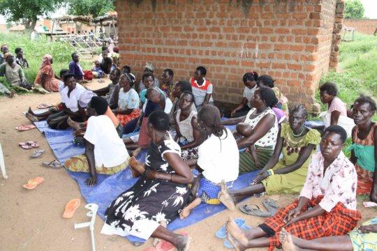 Local HIV/AIDS workshop South Sudan