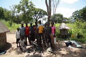 Project beneficiaries at Onura sub village Sudan