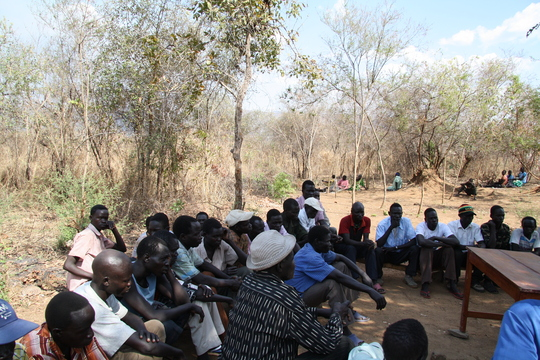HIV-AIDS educational workshop in Omilling village