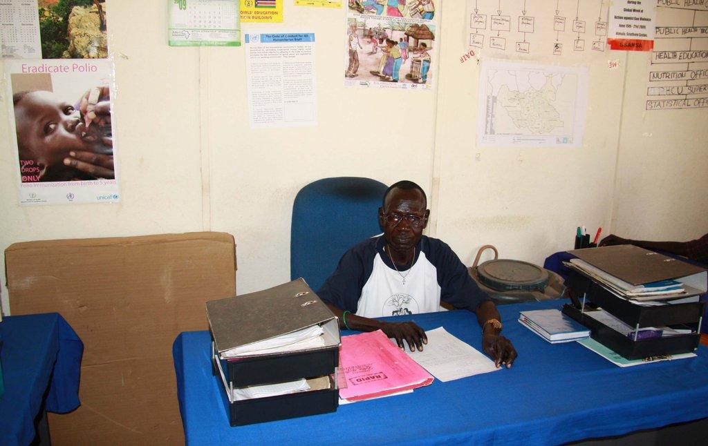 Magwi county HIV/IDS compaigner