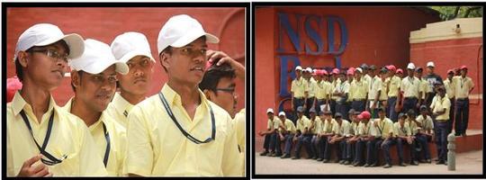 41 Boys visit Delhi for 4 days, May 2014