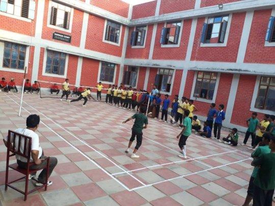 Badminton match at SSK