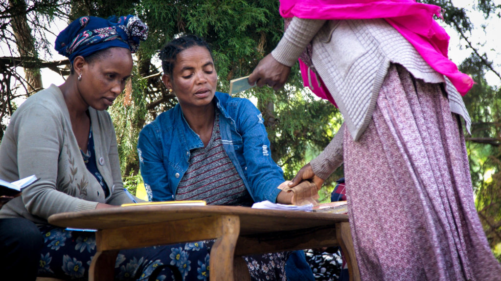 Support Self-Help Groups for Women in Ethiopia