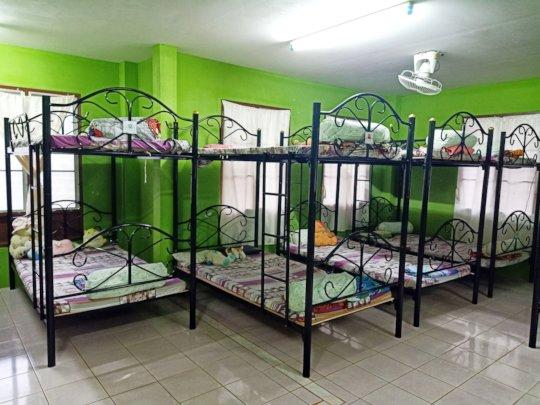New bunk beds at Kindergarten dormitory