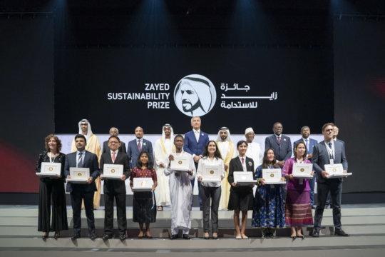 Zayed Sustainability Award Ceremony in Dubai
