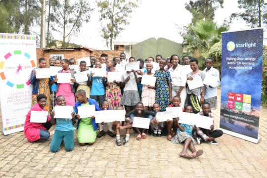 Meet Some Of Our Rwandan Career Girls