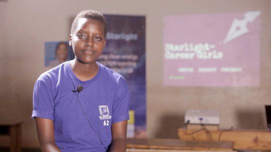 Rwandan Student Participant Reacts To The Program