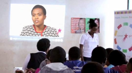 Girls Watching Role Model Marie Claire Murekatete