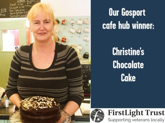 Runner up - Christine from Gosport