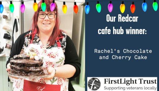 Redcar winner - Rachel