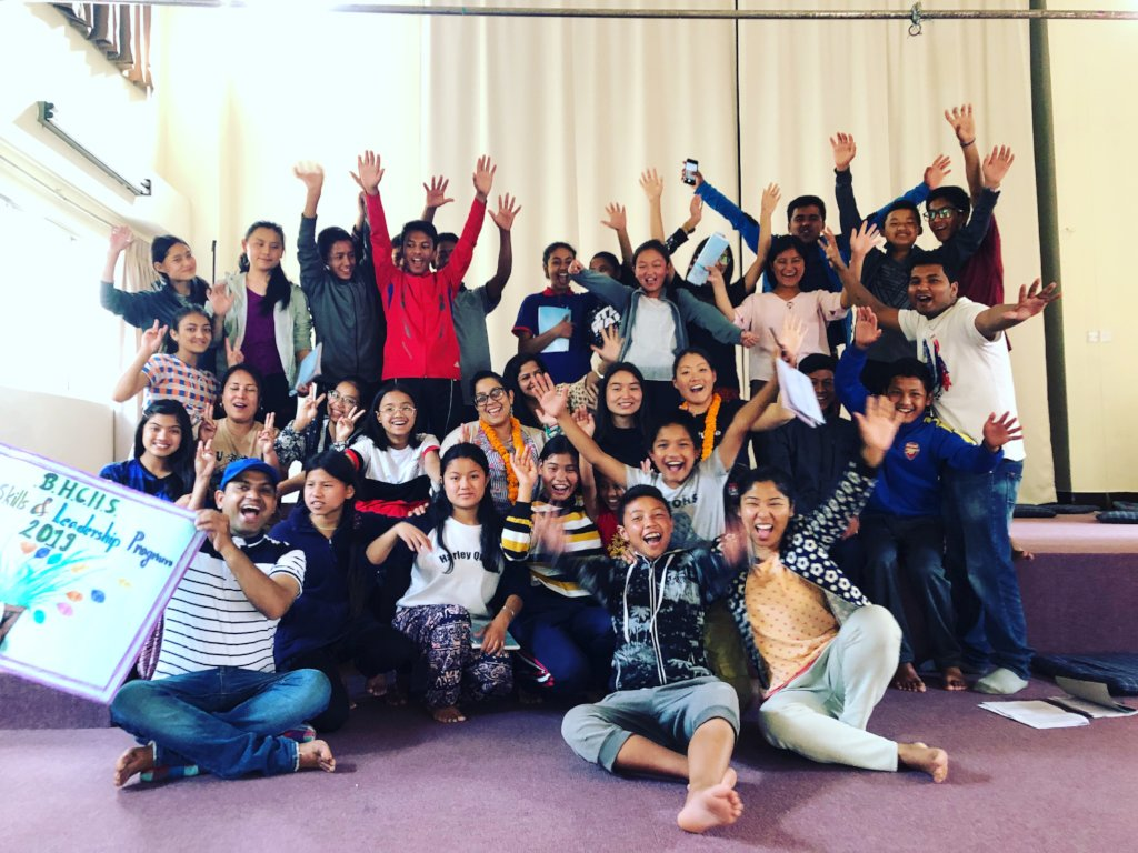 Healing support for students in Nepal