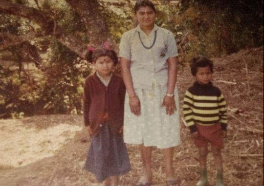 Suresh as a young boy