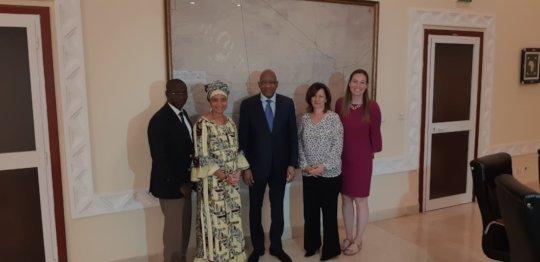 ACFA's board members meet Mali Prime Minister