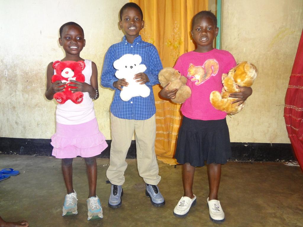Children Enjoying Some Gifts