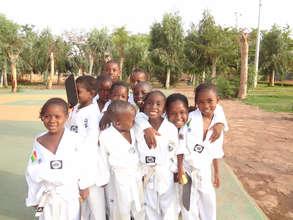 Children In Taekwondo Gear