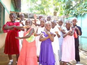 ACFA Children at home