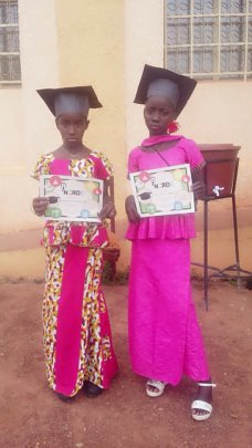 Children at iNerd graduation