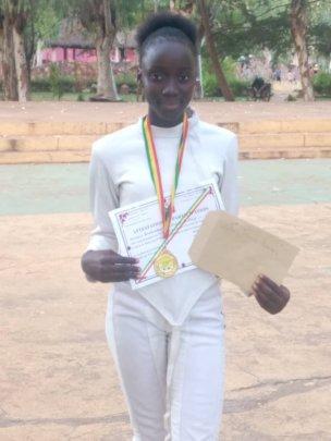 Diakassan Mali 2019 Fencing Champion