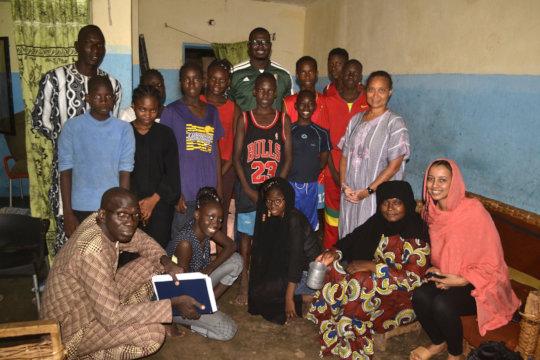 Moussa and Zeinab Visit