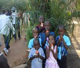 Children during one of their field trip to the Zoo