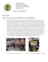 4t Quarterly Report CSAG Footprint Books for Kids (PDF)