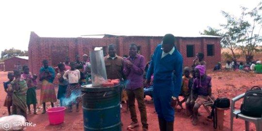 Biochar Training at Dowa village in Malawi