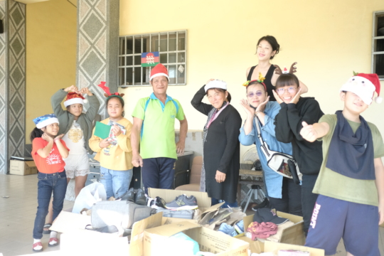Food staples delivery with Taitung community