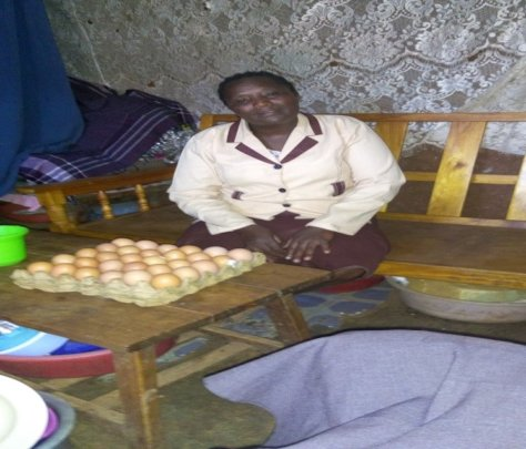 Beatrice uses loan to expand egg selling business