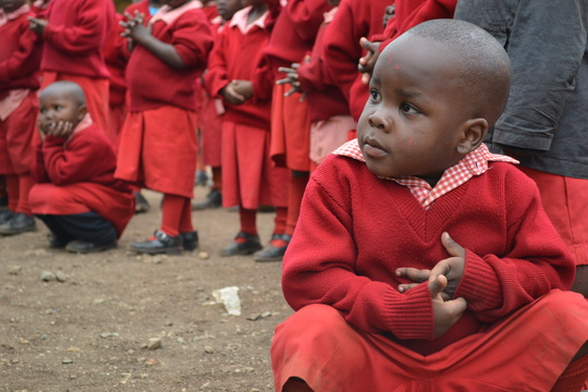 Nursery School Students at Play