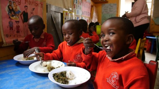St. Vincent's Nursery School Lunch Time